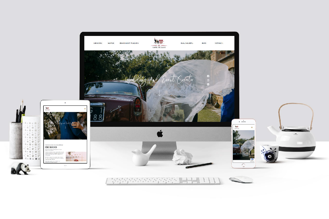 amuri sicilianu website design