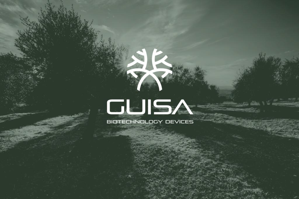 guisa biotechnology design brand identity